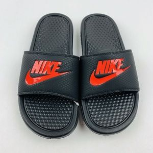 Nike Shoes - New Nike Benassi Jdi Mens Slide Sandals  Black/ Ch